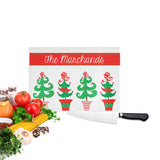 Personalize Christmas Cutting Board