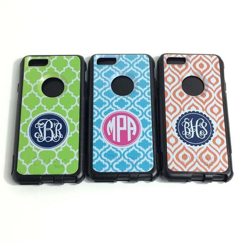 Monogrammed iPhone 6 Otterbox Case