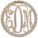 Wood Monogram Wall Decor