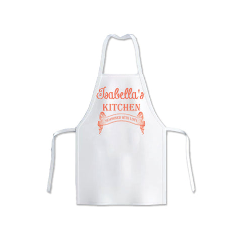 Personalized Made With Love Apron