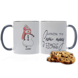Snow Many Hugs Personalized Christmas Mug