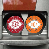 Personalized Team Colors Car Coasters