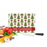 Personalized Christmas Tree Cutting Board