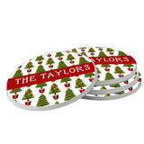 Christmas Treee Beverage Coasters