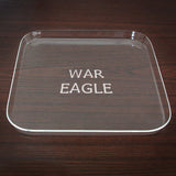 War Eagle Engraved Tray