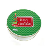 Whimiscal Personalized Christmas Tin