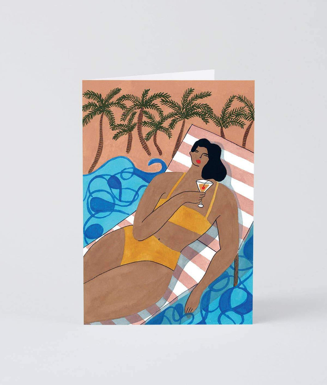 Beach Cocktail Card