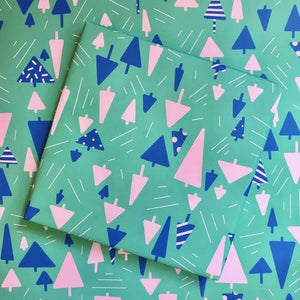 Festive Forest Gift Wrap