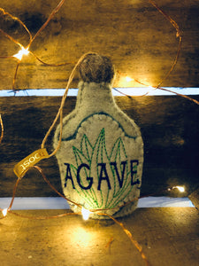 Mexican Spirits Felt Ornament- Agave