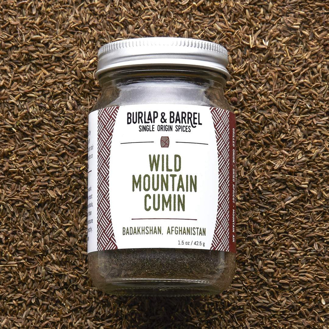 Wild Mountain Cumin Seeds / Burlap + Barrel