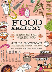 Food Anatomy The Curious Parts & Pieces of Our Edible World by Julia Rothman