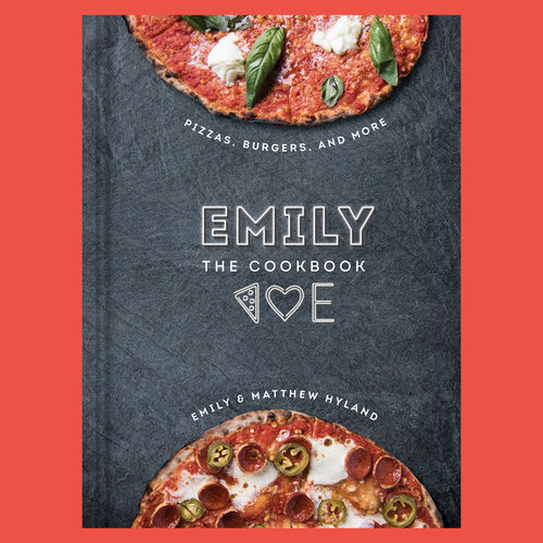 Emily the Cookbook Pizza,  Burgers,  and More by Emily & Matthew Hyland