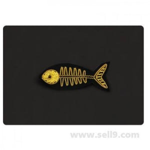 Fish Bone Pin by Macon & Lesquoy