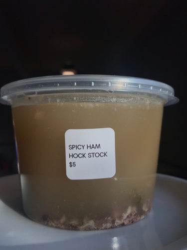 Spicy Ham Hock Stock