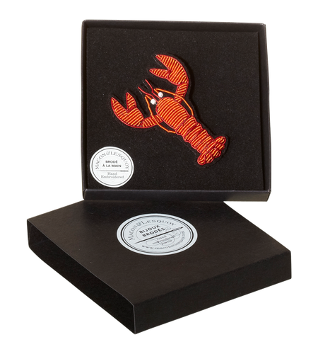 Lobster Pin by Macon & Lesquoy