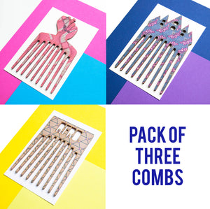 PACK OF 3 COMBS