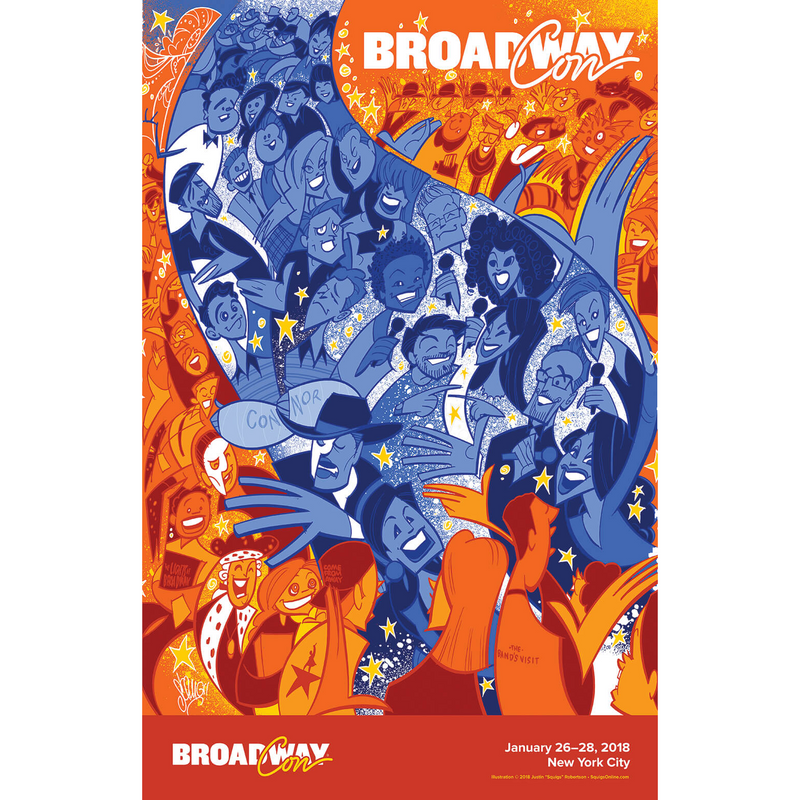 BroadwayCon 2018 Squigs Poster