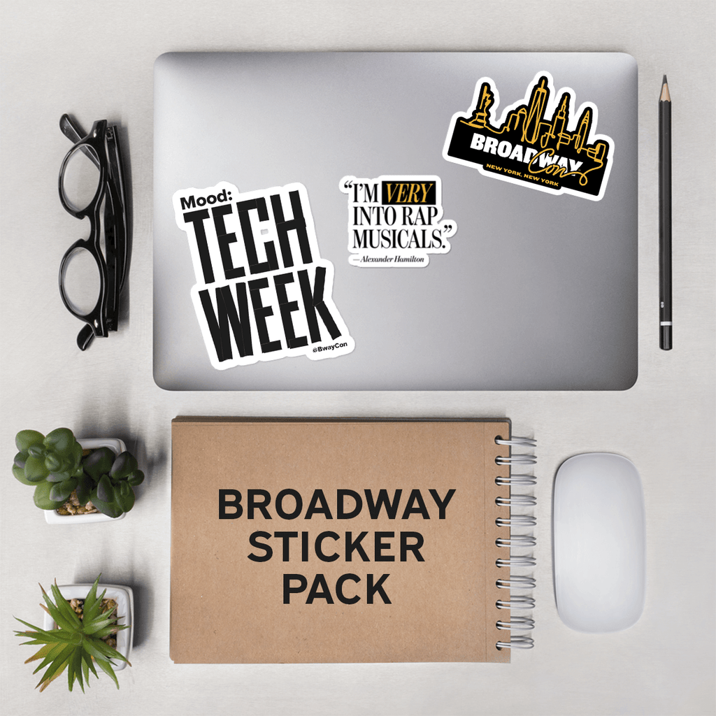 Broadway Sticker Pack
