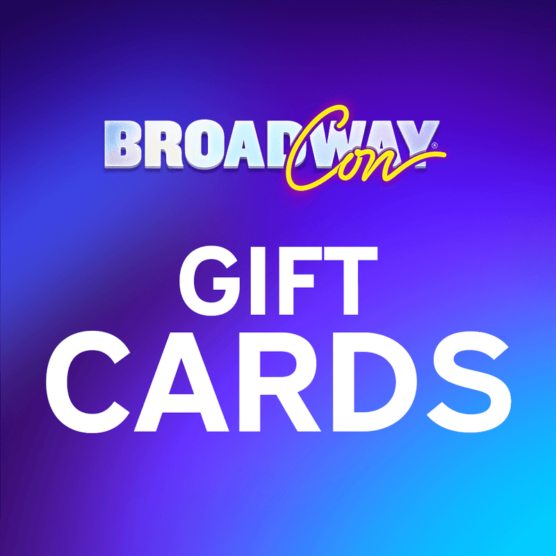 BroadwayCon Event Gift Card