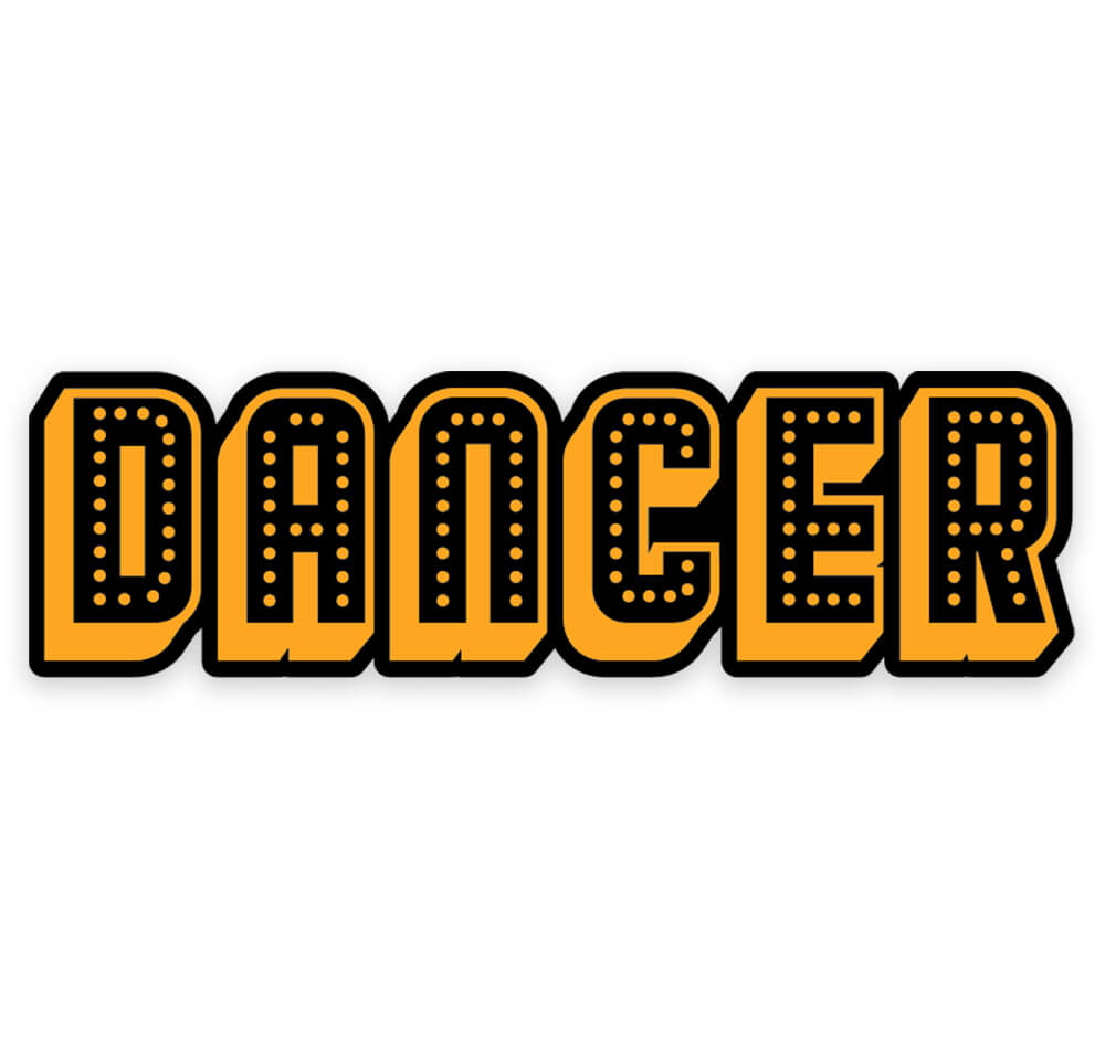 Dancer Enamel Pin
