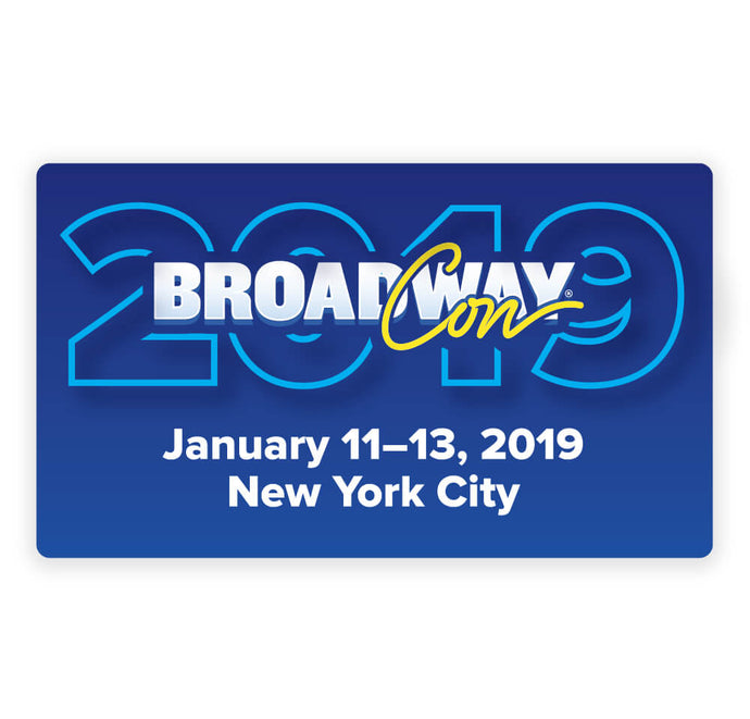 BroadwayCon 2019 Magnet
