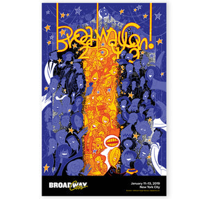 BroadwayCon 2019 Squigs Poster