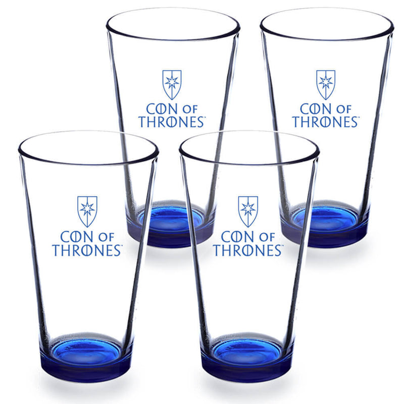 Con of Thrones Pub Glasses (Set of 4)