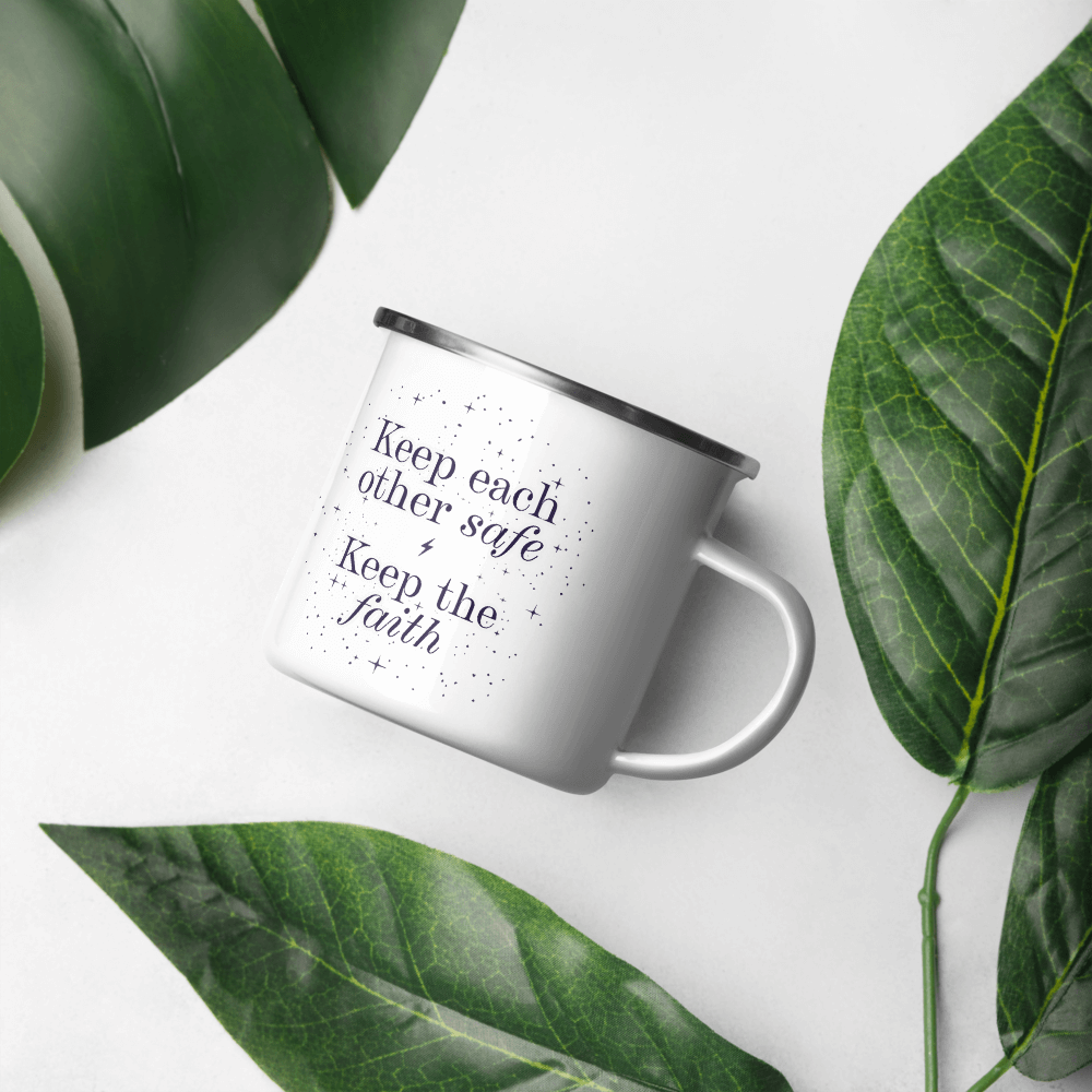Keep the Faith Enamel Mug