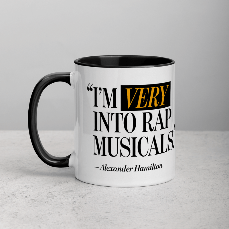 I'm Very Into Rap Musicals Mug