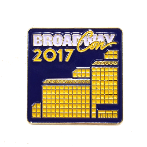 BroadwayCon 2017 Lapel Pin