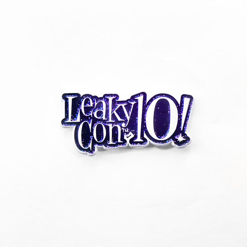 LeakyCon 10 Enamel Pin