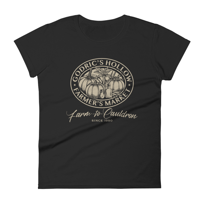 Godric's Hollow Farmer's Market Fitted T-Shirt