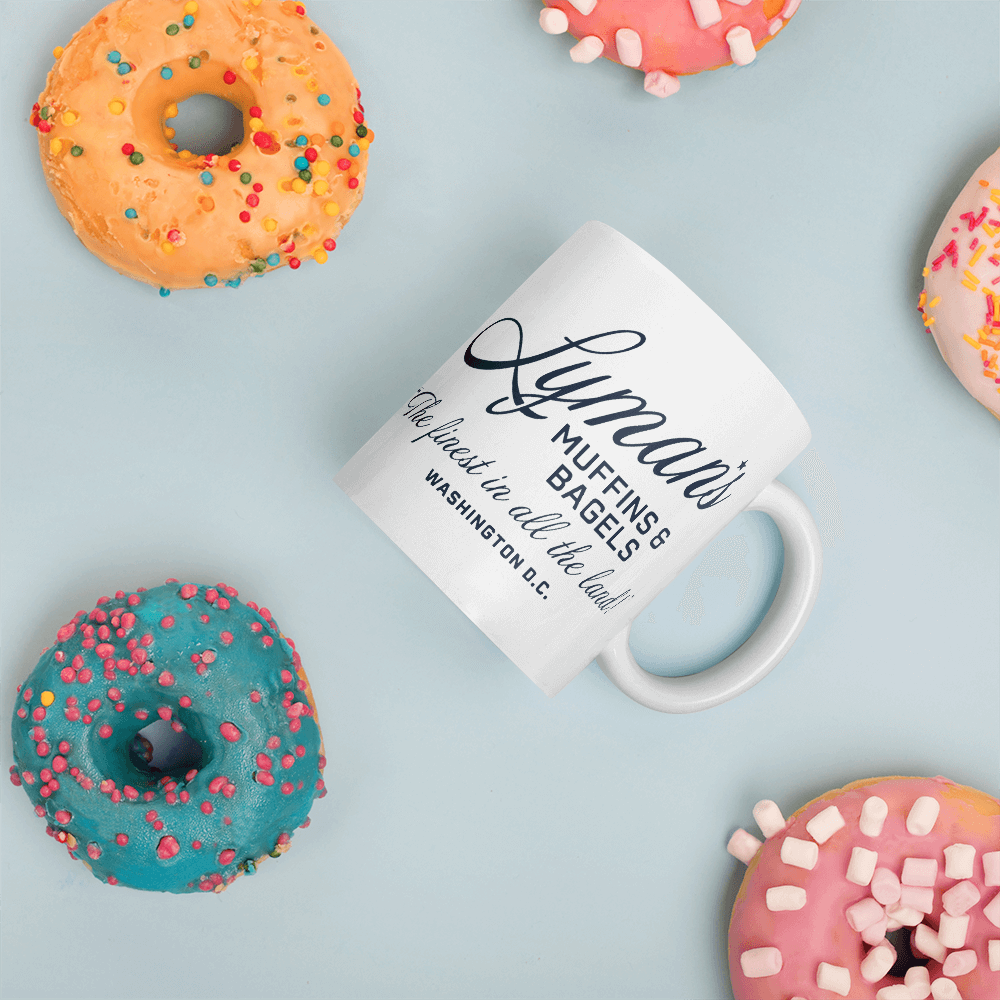 Lyman's Muffins and Bagels Mug