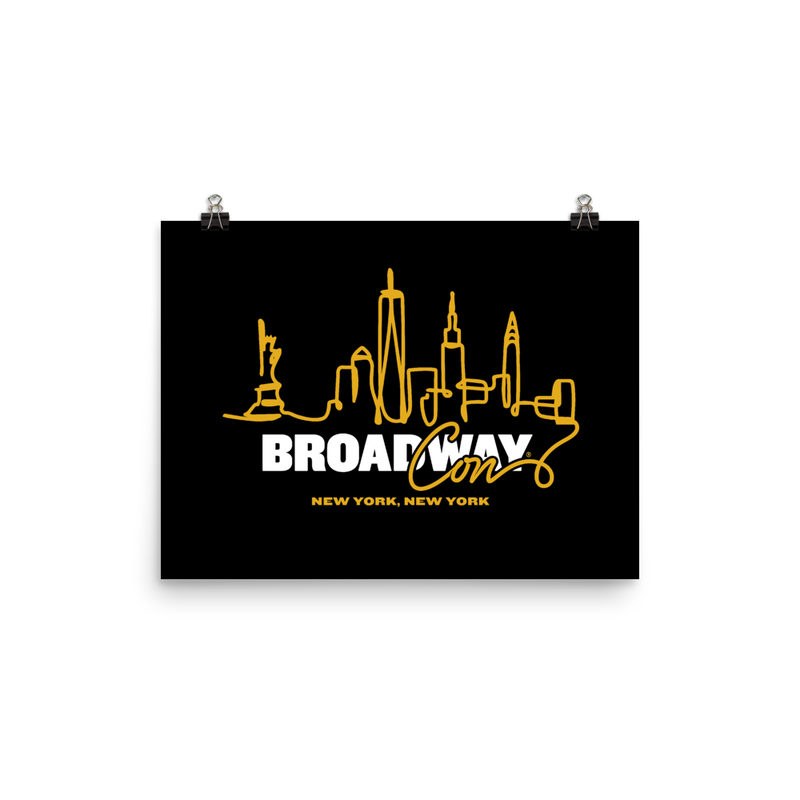 BroadwayCon NYC Skyline Posters