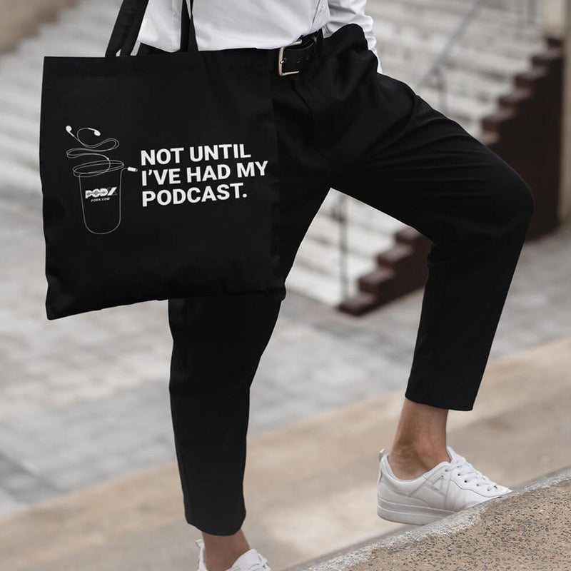 Podcast Coffee Tote Bag