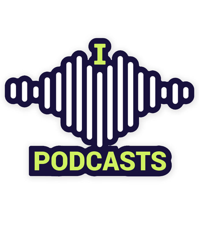 I Heart Podcasts Enamel Pin