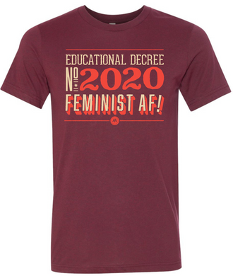 Educational Decree 2020: Feminist AF