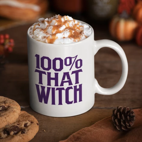 100% That Witch Mug