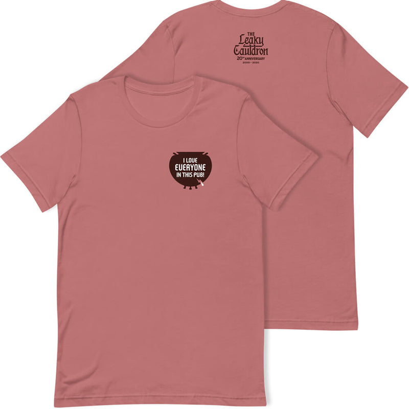 The Leaky Cauldron Anniversary T-Shirt