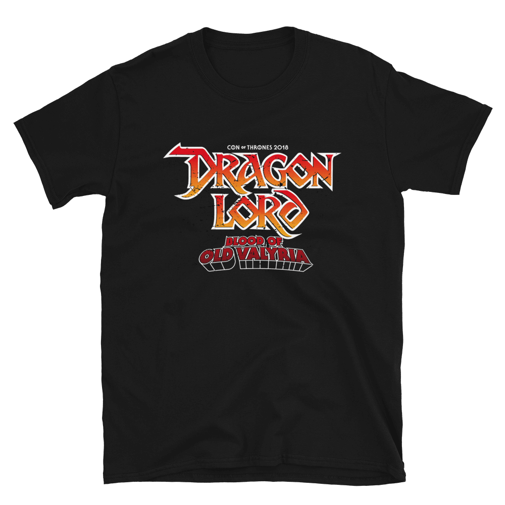 Dragon Lord T-shirt Con of Thrones
