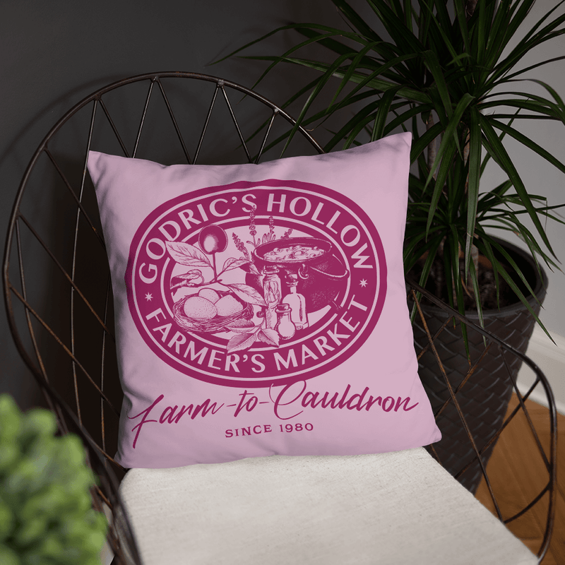 Godric's Hollow Farmer's Market Pillow