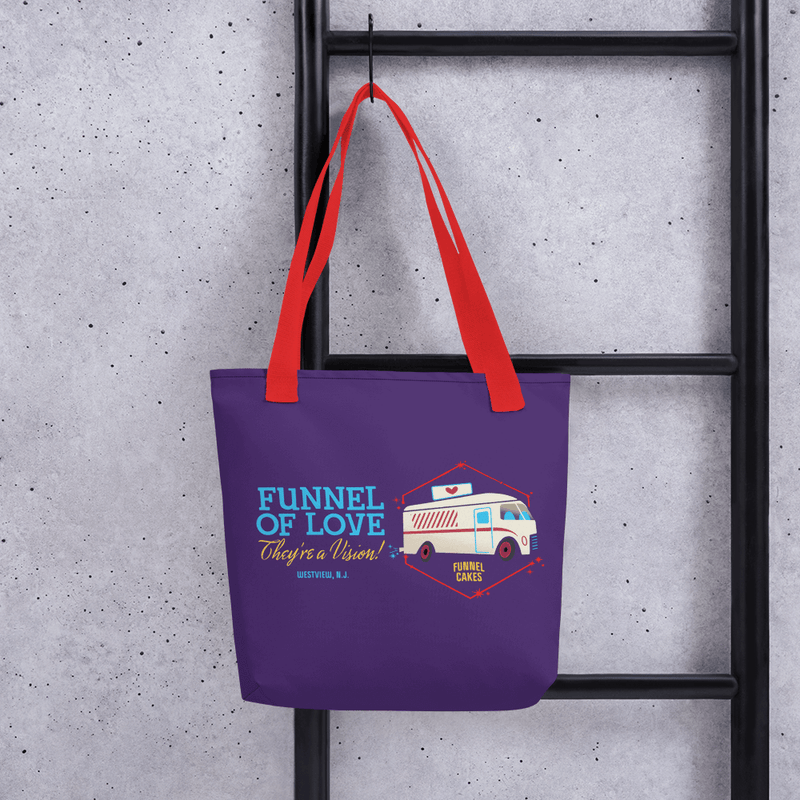 Funnel of Love Tote Bag