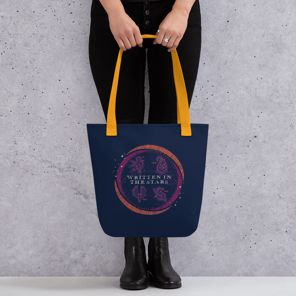 House Astrology Tote Bag