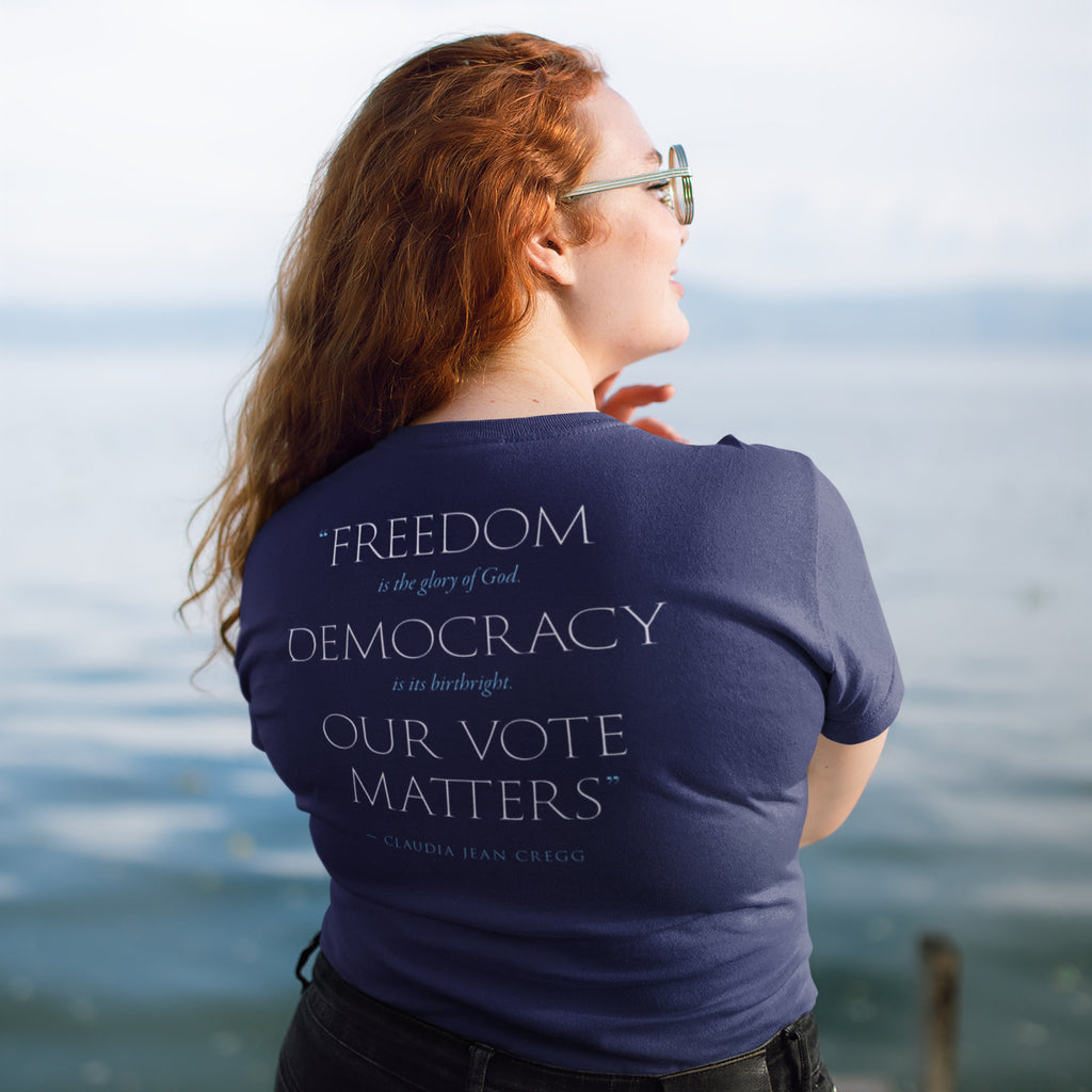 Our Vote Matters Relaxed T-Shirt