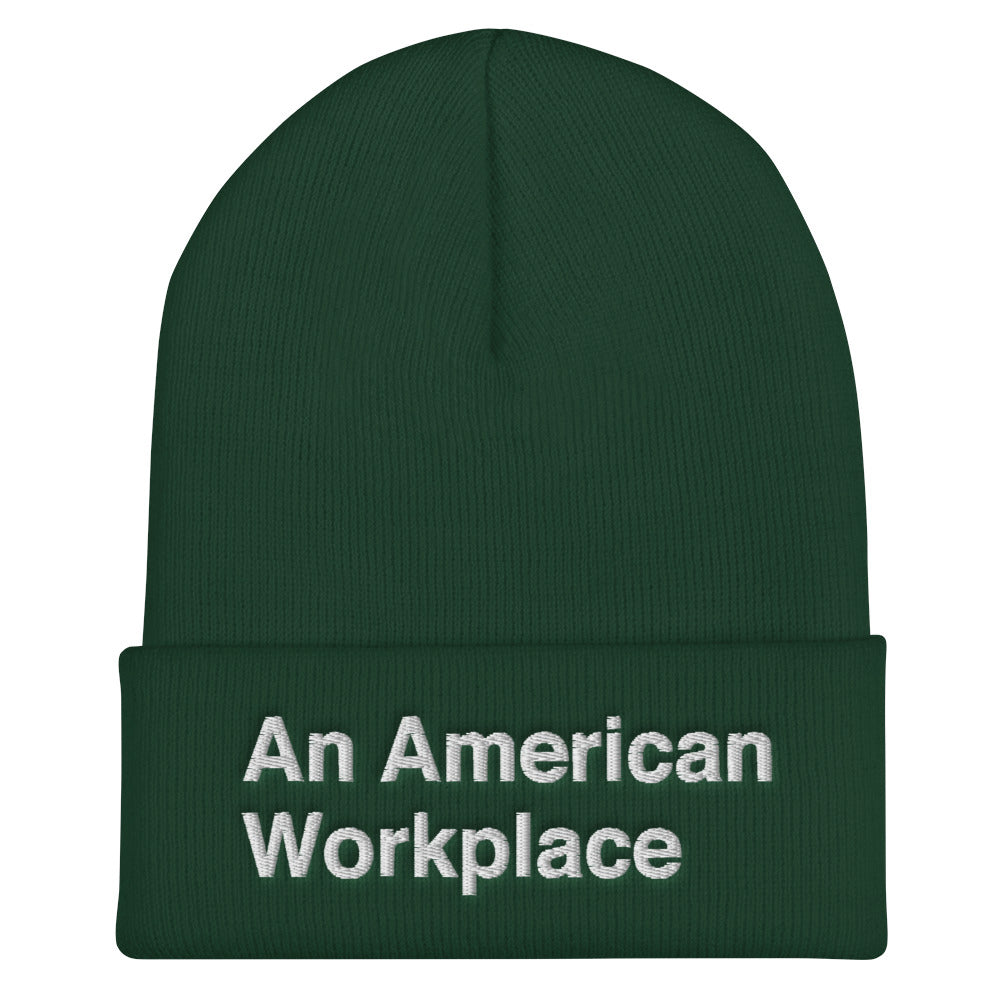 An American Workplace Beanie