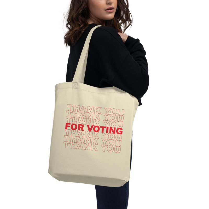 Thank You For Voting Tote