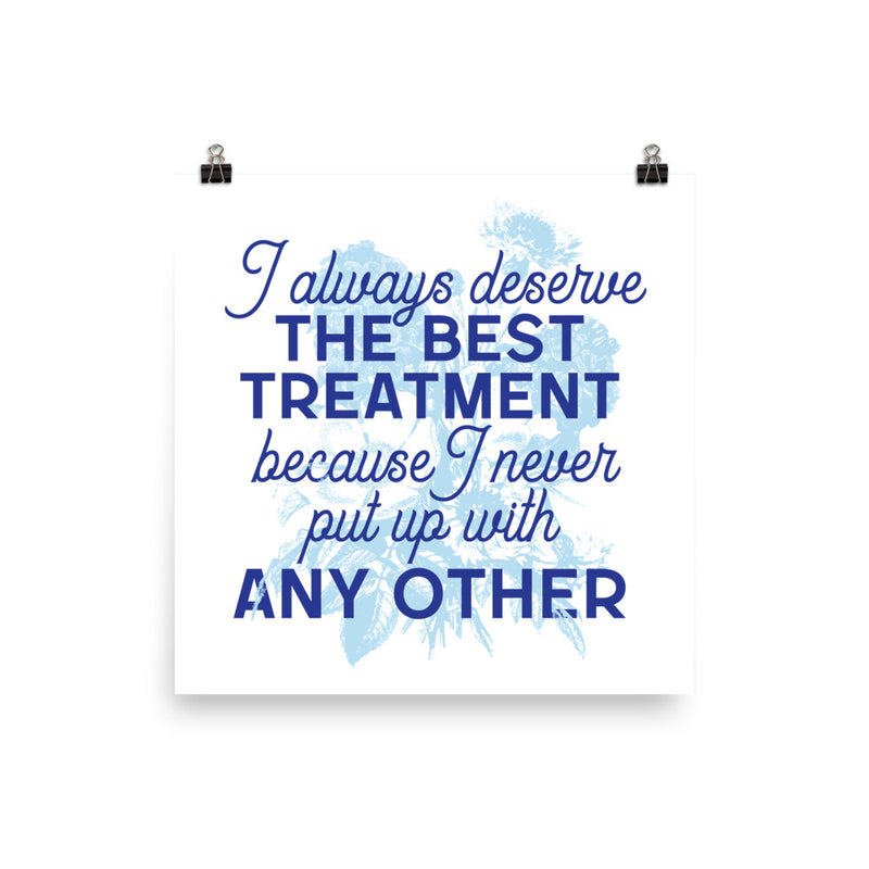 The Best Treatment Poster
