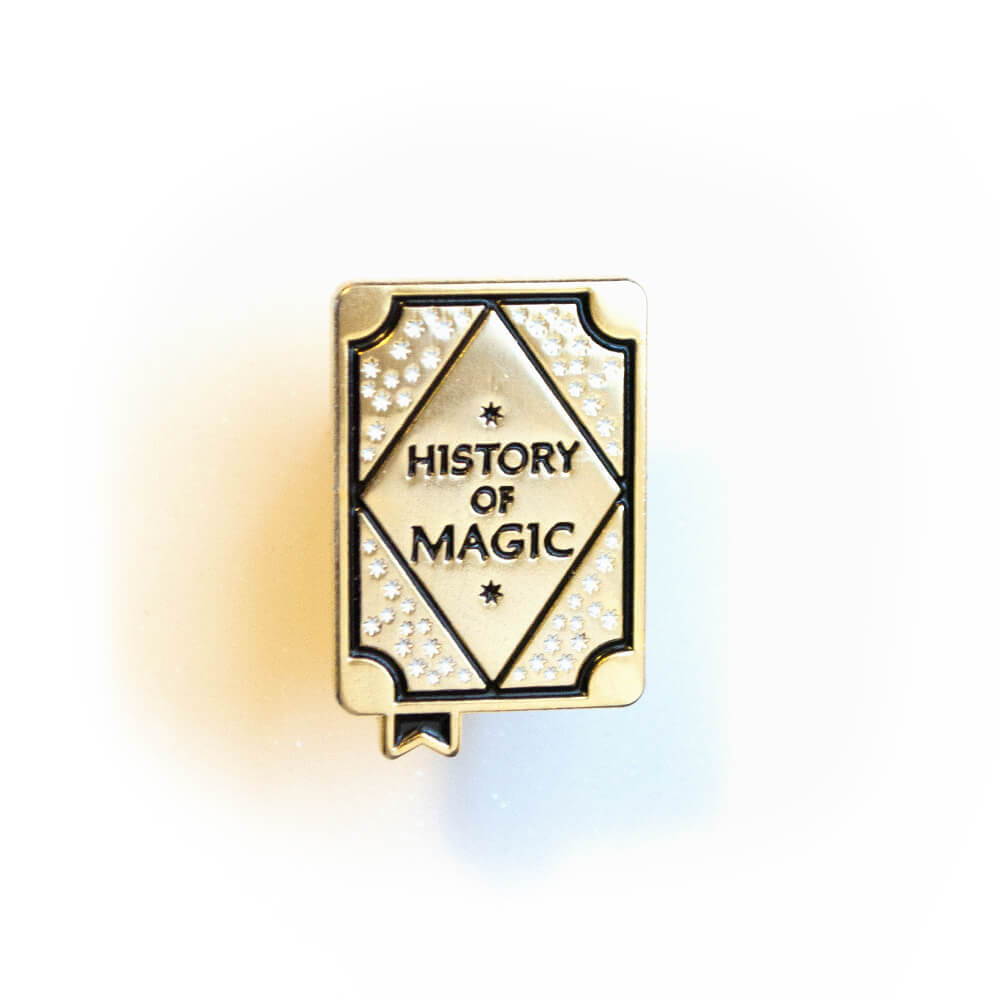 History of Magic Enamel Pin
