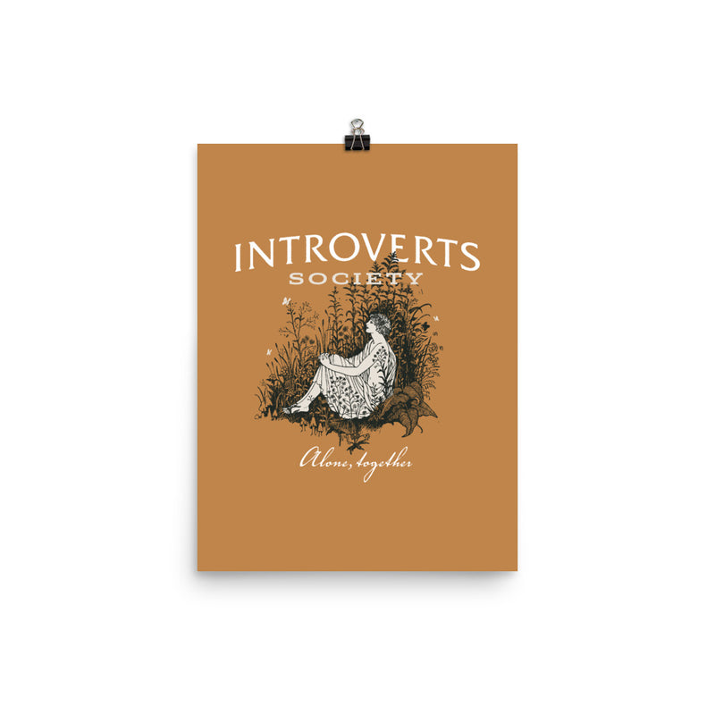 Introverts Society Poster