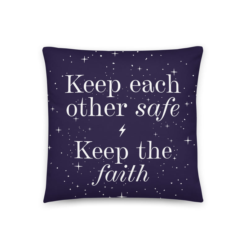 Keep the Faith Pillow